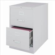 60cm Deep Commercial 2 Drawer Legal Size High Side Vertical File Cabinet Colour