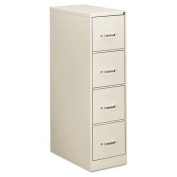 OIF Four-Drawer Economy Vertical File, 15w x 26-1/2d x 52h, Light Grey