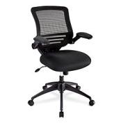 Realspace(R) Calusa Mesh Mid-Back Chair, Black