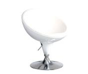 International Design USA Neptune Adjustable Leisure Chair, White