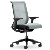 Steelcase Think 3D Mesh Fabric Chair, Nickel