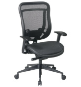 Executive High Back Chair with Mesh Seat and Back