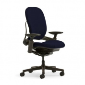 Leap Plus Chair by Steelcase - Fully Adjustable - Navy