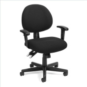OFM 24-Hour Computer Task Chair with Arms in Black