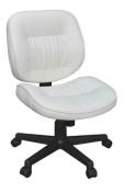 Regency Seating Cirrus Swivel Office Chair, White