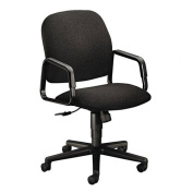 New - Solutions Seating High-Back Swivel/Tilt Chair, Black by HON