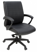 Regency Seating Evolve Low Back Vinyl Executive Office Chair