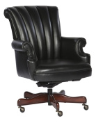 Ribbed Leather Executive Office Chair Colour