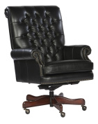 Tufted Leather Executive Office Chair Colour