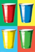 Posterservice Party Cups Colours Poster