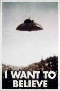 The X-Files (I Want to Believe) TV Poster Print