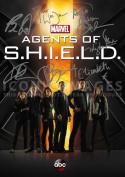 Agents of S.H.I.E.L.D Shield Tv Print (11.7 X 8.3) Signed by cast (Pre-print Autograph) Joss Whedon Gregg Bennet Henstridge Dalton Wang De Caestecker