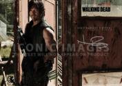 The Walking Dead Season 4 Daryl Dixon (11.7 X 8.3) Signed (Pre-print Autograph) Norman Reedus