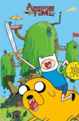 Adventure Time Finn and Jake TV Poster Print
