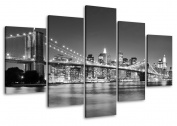 Picture 6402 on canvas length 100cm height 50cm New York pictures ready to hang framed , brand original Visario!