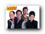 Seinfeld (Cast) TV Poster Print