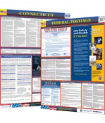Osha4less Labour Law Poster - State and Federal, Connecticut