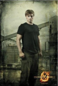 NECA The Hunger Games Poster Peeta in District 12