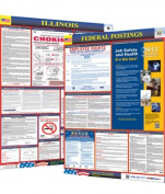 Osha4less Labour Law Poster - State and Federal, Illinois