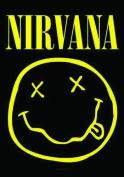 LPGI Nirvana Smiley Face Fabric Poster, 80cm by 100cm
