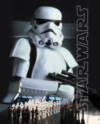 Star Wars Stormtrooper Close Up Collage Sci Fi Movie Film Rare Vintage Original Closeout Stock Postcard Poster Print 11x14