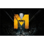 Metro 2033 Poster by Silk Printing # Size about (56cm x 35cm, 22inch x 14inch) # Unique Gift # D4AADA