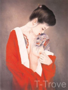Tattoo Japanese Lady Wall Scroll R19
