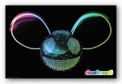 AQUARIUS Deadmau5 Logo Poster