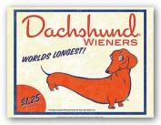 Dachshund Wieners - World's Longest by Brian Rubenacker 60cm x 46cm Art Print Poster