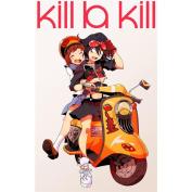 Kill La Kill Poster by Silk Printing # Size about (60cm x 94cm, 24inch x 38inch) # Unique Gift # 5E84C8