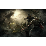 The Elder Scrolls Online Poster by Silk Printing # Size about (98cm x 60cm, 39inch x 24inch) # Unique Gift # 03CBBF