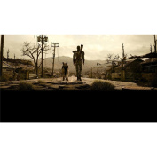 Fallout 3 Poster by Silk Printing # Size about (107cm x 60cm, 43inch x 24inch) # Unique Gift # F754D8