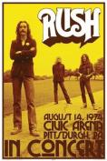 AQUARIUS Rush Concert Poster Print, 60cm by 90cm