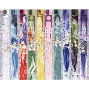 Sailor Moon Poster by Silk Printing # Size about (76cm x 60cm, 30inch x 24inch) # Unique Gift # 1E7FBA