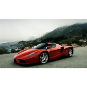 Ferrari ENZO Poster by Silk Printing # Size about (62cm x 35cm, 25inch x 14inch) # Unique Gift # 856289