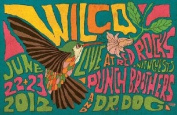 The Wilco Punch Brothers Dr. Dog Poster Concert Dr Doctor