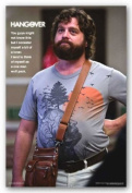 The Hangover Movie (Alan, One Man Wolf Pack) Poster Print