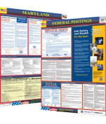 Osha4less Labour Law Poster - State and Federal, Maryland