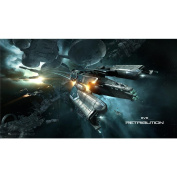 Eve Online Poster by Silk Printing # Size about (62cm x 35cm, 25inch x 14inch) # Unique Gift # 589ADE