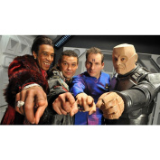 Red Dwarf Poster by Silk Printing # Size about (107cm x 60cm, 43inch x 24inch) # Unique Gift # 5A5A4D