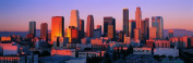 Panoramic Wall Decals - Los Angeles Skyline 1