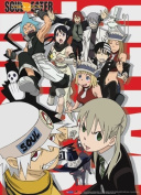 Great Eastern Entertainment Soul Eater Vocational Bunch Wall Scroll, 80cm by 110cm