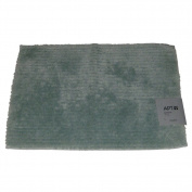 Apt 9 Seaglass Blue Plush Pile Ridge Throw Rug 17x24 Skid Resistant Bath Mat