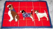 Martha Stewart Collection Holiday Bath Rug - Dogs