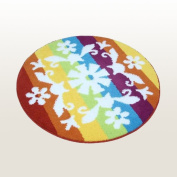 Naomi - [Romantic Snowy World] Round Home Rugs