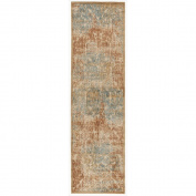 Graphic Illusions GIL09 Light Gold Area Rug