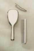 Comb/brush - Girls, Nickel Plated.