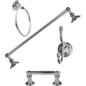 Arista Bath Products Highlander Series 4-Piece Bathroom Accessory Set