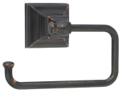 Amerock BH26510ORB Oil Rubbed Bronze Markham 13cm - 2.2cm Tissue Roll Holder from the Markham Collection