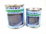 AquaFinish Bathtub Refinishing Kit, Coating Only